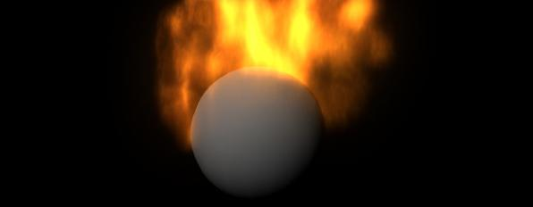 maya fire effect