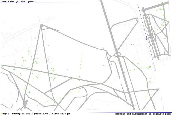 REGENTS PARK_Mapping_Proximity_DAY 3