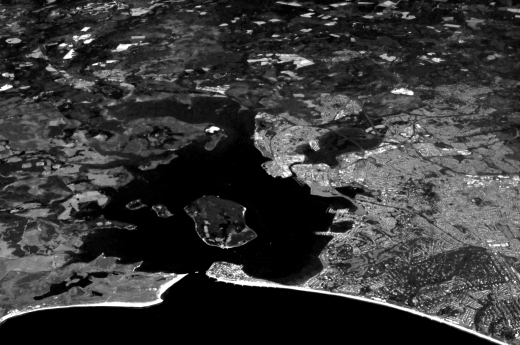 poole_harbour_from_airline_original bw